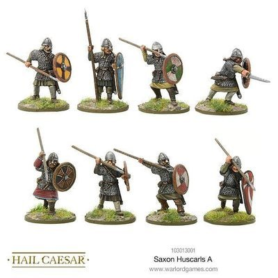 Saxon Huscarls A - Hail Caesar - Warlord Games
