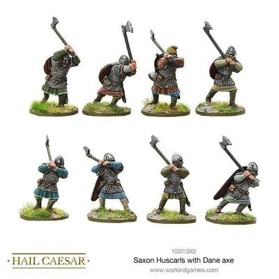 Saxon Huscarls with Dane axe - Warlord Games