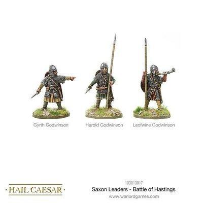 Saxon Leaders - Battle Of Hastings - Hail Caesar - Warlord Games