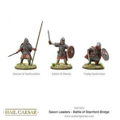 Saxon Leaders - Battle Of Stamford Bridge - Hail Caesar - Warlord Games