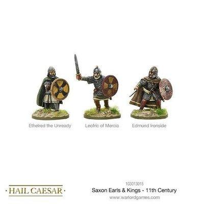 Saxon Earls & Kings - 11th Century - Hail Caesar - Warlord Games