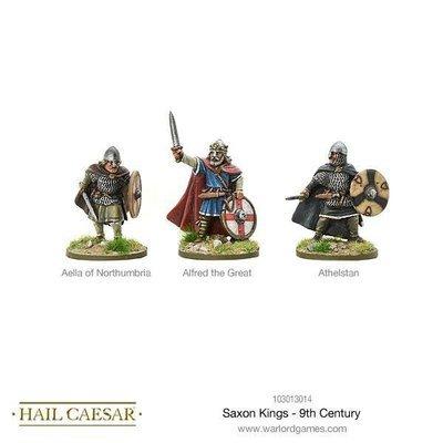 Saxon Kings - 9th Century - Hail Caesar - Warlord Games