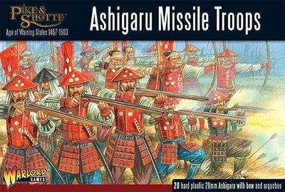 Ashigaru Missile Troops - Pike&Shotte - Warlord Games