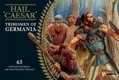 Tribesmen Of Germania - Hail Caesar - Warlord Games