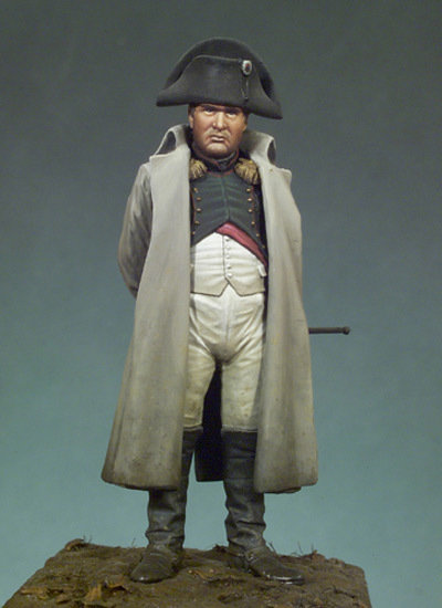 Napoleon I in overcoat - 54mm - Andrea Miniatures
