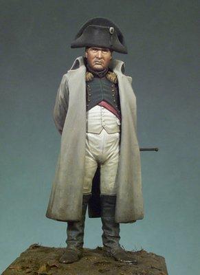 Napoleon I in overcoat - 54mm - Andrea Miniatures