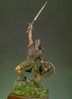Brave Heart (1297) - 54mm - Andrea Miniatures