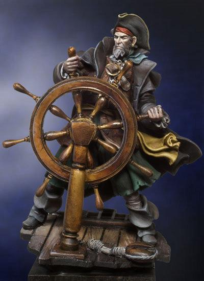Riding the Storm, 1665 Pirates - 54mm - Andrea Miniatures