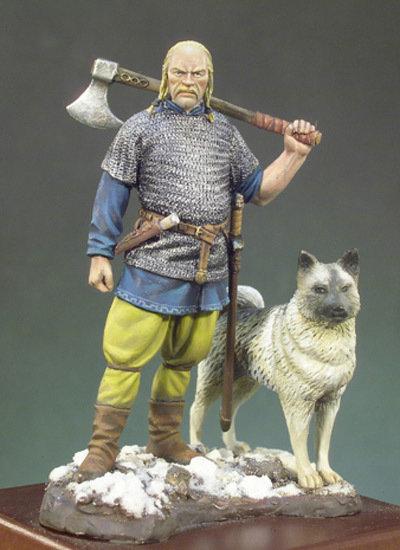 Viking Warlord (X A.D.) - 54mm - Andrea Miniatures
