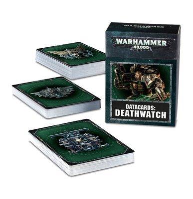 Datakarten: Deathwatch (Deutsch) - Warhammer 40.000 - Games Workshop