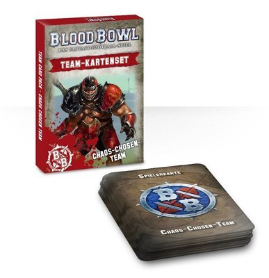 Blood Bowl Team-Kartenset der Chaos Chosen (Deutsch) - Blood Bowl - Games Workshop
