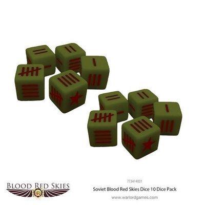 Soviet Blood Red Skies Dice - Blood Red Skies - Warlord Games