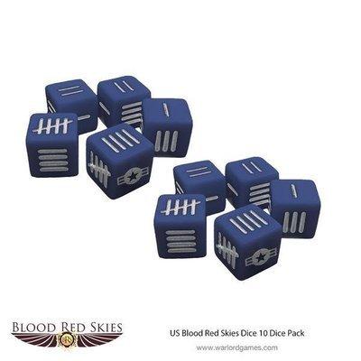 US Blood Red Skies Dice - George Preddy - Blood Red Skies - Warlord Games