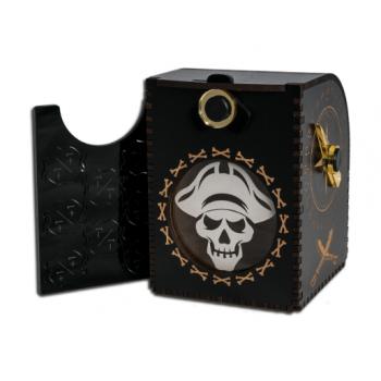 Wooden Deck Case - Pirate - Kartenbox