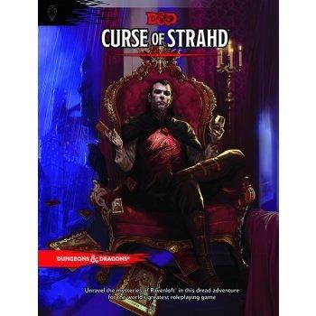 Dungeons & Dragons Adventure: Curse of Strahd English