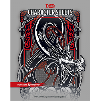 Dungeons & Dragons Dungeon RPG - Character Sheets - EN
