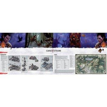 Dungeons & Dragons Curse of Strahd: DM Screen - EN
