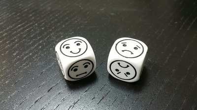 Smilie Würfel W6 - Smilie Dice D6
