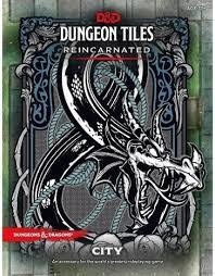 Dungeons & Dragons D&D - Dungeon Tiles Reincarnated City - EN