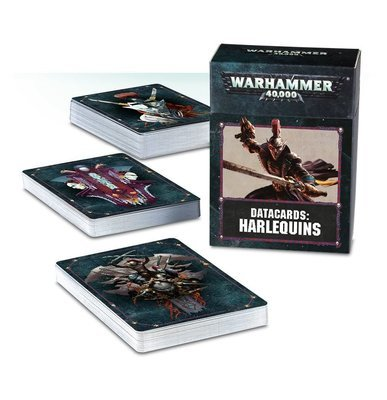 Datacards: Harlequins (Deutsch) - Warhammer 40.000 - Games Workshop
