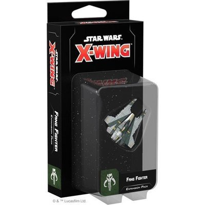Star Wars X-Wing 2nd Edition Fang Fighter Expansion Pack - EN