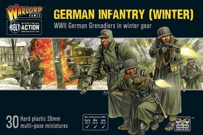 Germans Infantry (Winter) - Bolt Action - Warlord Games