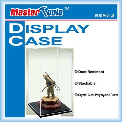 DISPLAY CASE 09807 117mmX117mmX206mm - Trumpeter