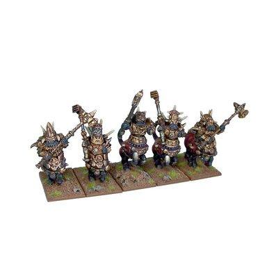 Halfbreed Regiment - Abyssal Dwarfs - Kings of War - Mantic Games