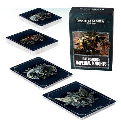 Datakarten: Imperial Knights (Deutsch) - Warhammer 40.000 - Games Workshop