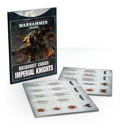 Datasheet Cards: Imperial Knights (Englisch) - Warhammer 40.000 - Games Workshop