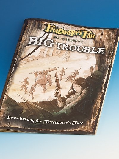 Tales of Longfall #3, D Erweiterungsbuch - Freebooter's Fate - deutsch