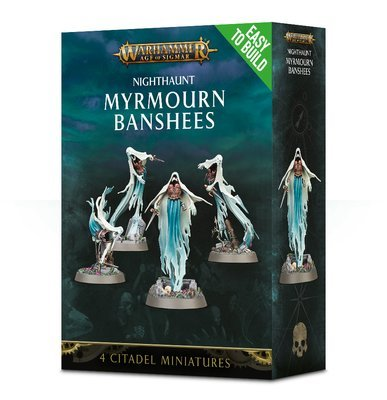 Easy to Build Myrmourn Banshees Nighthaunt - Warhammer Age of Sigmar - Games Workshop