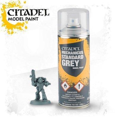 Mechanicus Standard Grey Spray Farbspray - Citadel - Games Workshop