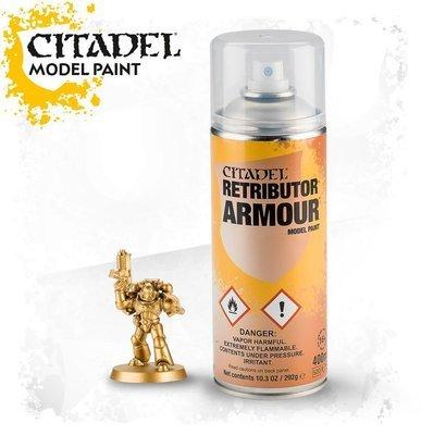 Retributor Armour Spray Farbspray - Citadel - Games Workshop