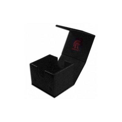Deckbox - Hoard V2 Dragon Hide Black - Legion