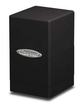 Black Satin Tower - UP - Ultra Pro