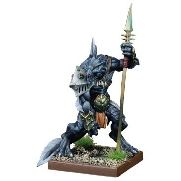 Eckter, Placoderm Defender - Trident Realm of Neritica - Kings of War - Mantic Games