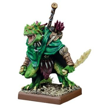 Artakl, Ghekkotah Clutch Warden - Salamanders - Kings of War - Mantic Games