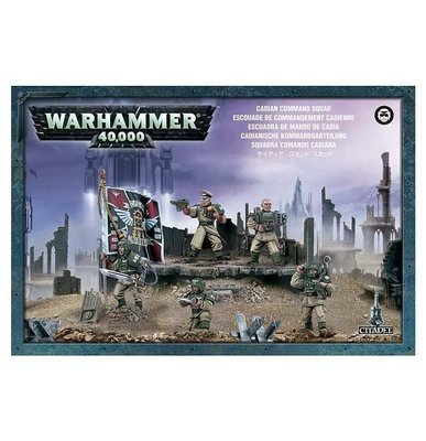 Cadian Command Squad Astra Militarum- Warhammer 40.000 - Games Workshop