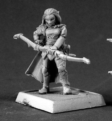 Varashia, Vale Archer Sergeant - Warlord - Reaper Miniatures