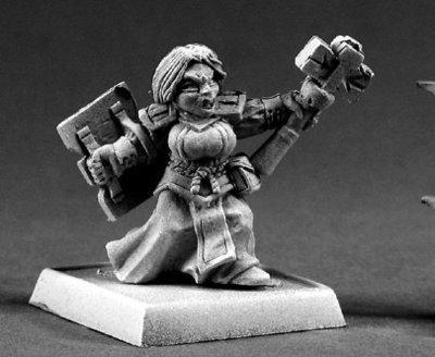Dwarf Valkyrie  - Warlord - Reaper Miniatures