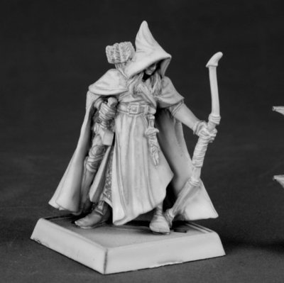 Arthrand Nightblade, Wood Elf Sergeant  - Warlord - Reaper Miniatures