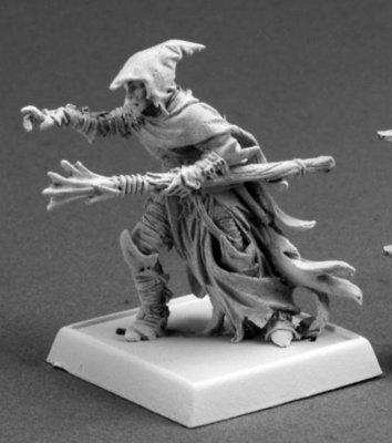 Dramorion, Dark Elf Sorcerer  - Warlord - Reaper Miniatures