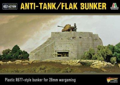 Anti-Tank/Flak Bunker - Bolt Action