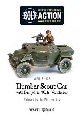 Humber Scout Car - Bolt Action - Warlord Games