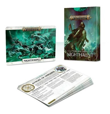 Warscroll Cards: Nighthaunt (Englisch) - Warhammer Age of Sigmar - Games Workshop