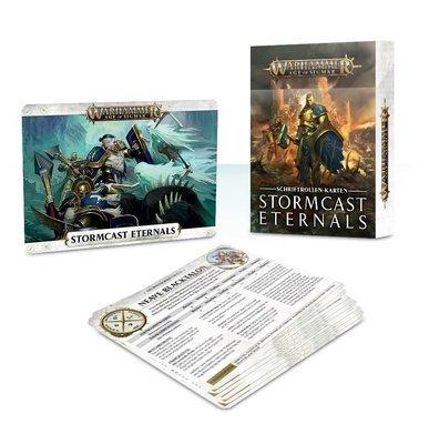 Schriftrollen-Karten: Stormcast Eternals Warscroll Cards - Warhammer Age of Sigmar - Games Workshop