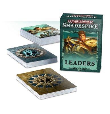 WH UNDERWORLDS: SHADESPIRE ANFÜHRER Karten DEUTSCH - Games Workshop