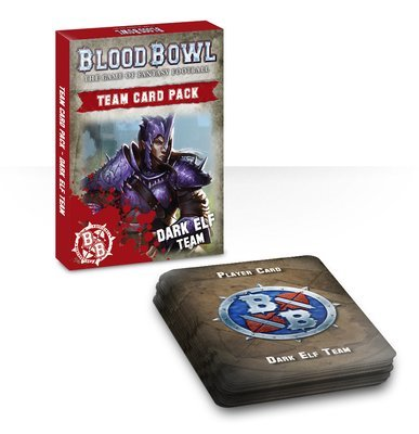 DARK ELF TEAM CARDS (ENG) - Blood Bowl - Games Workshop