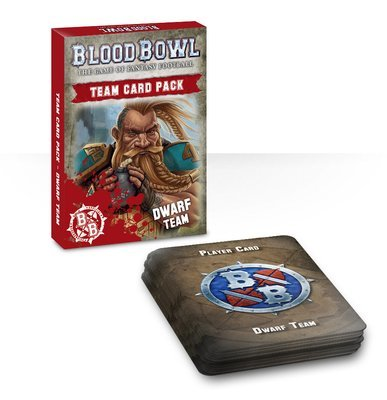 Blood Bowl Team Card Pack – Dwarves (Englisch) - Blood Bowl - Games Workshop